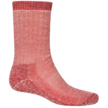 SmartWool Heavy Hike Socks - Crew (For Men and Women) in New Red - Closeouts