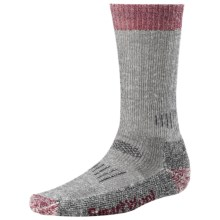 SmartWool Heavyweight Hunting Socks - Merino Wool (For Men and Women) in Charcoal/Red - 2nds