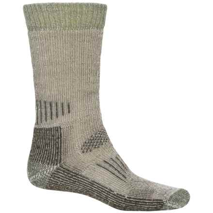 SmartWool Heavyweight Hunting Socks - Merino Wool, Mid Calf (For Men and Women) in Brown - Closeouts