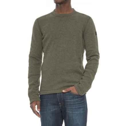 SmartWool Heritage Trail Fleece Sweater - Merino Wool (For Men) in Loden - Closeouts