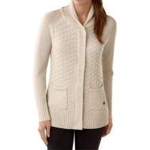 SmartWool Hesperus Sweater - Merino Wool (For Women) in Natural Heather - Closeouts