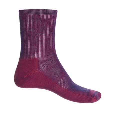 SmartWool Hike Light Socks - Merino Wool, Crew (For Little and Big Kids)