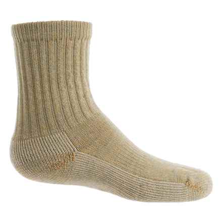 SmartWool Hike Light Socks - Merino Wool, Crew (For Little and Big Kids) in Sunglow - Closeouts
