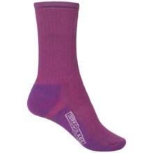 SmartWool Hike Medium Socks - Crew (For Women) in Berry/Purple - 2nds
