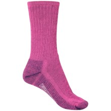 SmartWool Hike Medium Socks - Crew (For Women) in Punch - 2nds