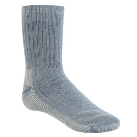 SmartWool Hike Medium Socks - Merino Wool, Crew (For Little and Big Kids) in Blue Steel - Closeouts