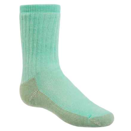 SmartWool Hike Medium Socks - Merino Wool, Crew (For Little and Big Kids) in Turquoise - Closeouts