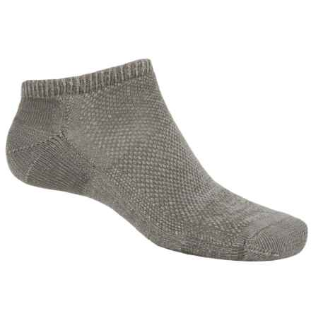 SmartWool Hike Socks - Merino Wool, Below the Ankle (For Men and Women) in Taupe - 2nds
