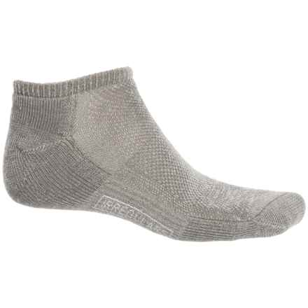 SmartWool Hike Ultralight Micro Socks - Merino Wool, Below the Ankle (For Men and Women) in Taupe - 2nds