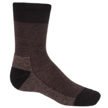 SmartWool Hiker Street Socks - Merino Wool, Crew (For Little and Big Kids) in Chestnut Heather - Closeouts