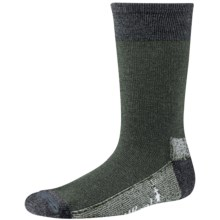 SmartWool Hiker Street Socks - Merino Wool, Crew (For Little and Big Kids) in Forest - Closeouts