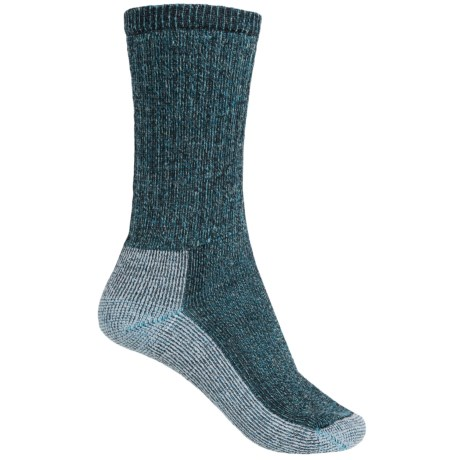 SmartWool Hiking Crew Socks - Merino Wool (For Women) in Arctic Blue