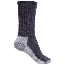 SmartWool Hiking Crew Socks - Merino Wool (For Women) in Deep Purple - 2nds