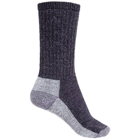 SmartWool Hiking Crew Socks - Merino Wool (For Women) in Deep Purple