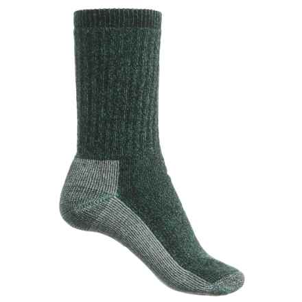 SmartWool Hiking Crew Socks - Merino Wool (For Women) in Forest Marl - Closeouts