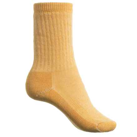 SmartWool Hiking Crew Socks - Merino Wool (For Women) in Harvest Gold - Closeouts