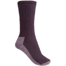 SmartWool Hiking Crew Socks - Merino Wool (For Women) in Purple Heather/Light Purple Heather - 2nds