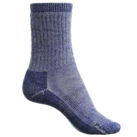 SmartWool Hiking Crew Socks - Merino Wool (For Women) in Royal Stripe - Closeouts