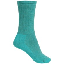 SmartWool Hiking Crew Socks - Merino Wool (For Women) in Turquoise - 2nds