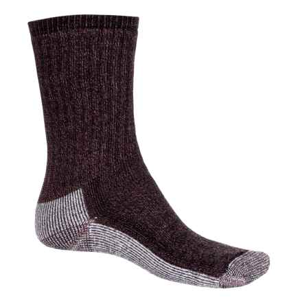 SmartWool Hiking Crew Socks - Merino Wool (For Women) in Wine Heather - Closeouts