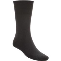 SmartWool Hiking Liner Crew Socks - Merino Wool, Lightweight (For Men and Women) in Black