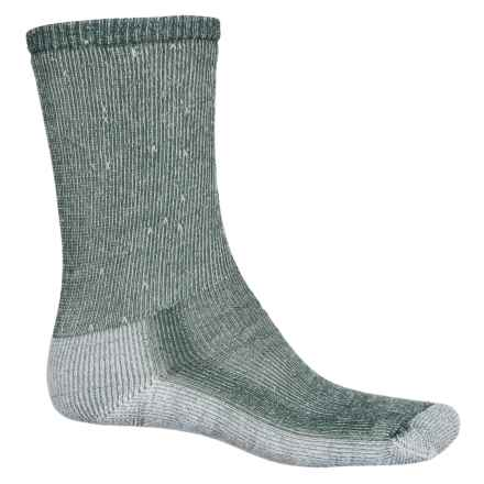 SmartWool Hiking Medium Socks - Merino Wool, Crew (For Men) in Green - Closeouts