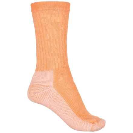 SmartWool Hiking Medium Socks - Merino Wool, Crew (For Women) in Nectarine - Closeouts