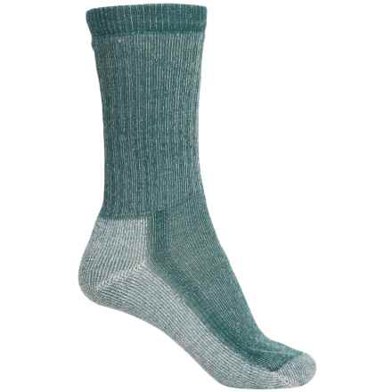 SmartWool Hiking Mid Socks - Merino Wool, Crew (For Women) in Deep Sea - Closeouts