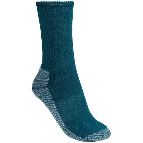 SmartWool Hiking Socks - Lightweight, Merino Wool, Crew (For Women) in Blue Family