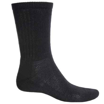 SmartWool Hiking Socks - Merino Wool, Crew (For Men and Women) in Black - 2nds