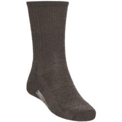 SmartWool Hiking Socks - Merino Wool, Crew (For Men and Women) in Chestnut