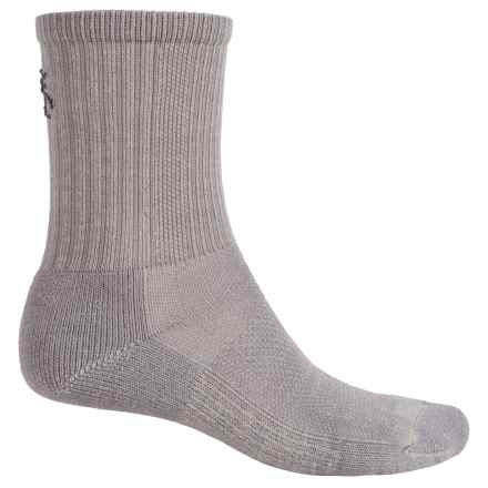 SmartWool Hiking Socks - Merino Wool, Crew (For Men and Women) in Medium Gray - 2nds