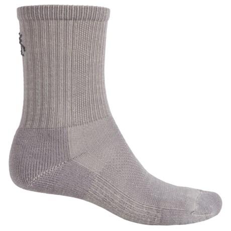 SmartWool Hiking Socks - Merino Wool, Crew (For Men and Women) in Medium Gray