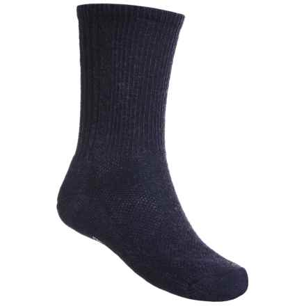 SmartWool Hiking Socks - Merino Wool, Crew (For Men and Women) in Navy - 2nds