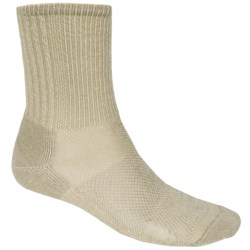 SmartWool Hiking Socks - Merino Wool, Crew (For Men and Women) in Oatmeal