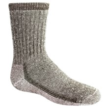 SmartWool Hiking Socks - Merino Wool, Medium Crew (For Kids) in Brown - 2nds