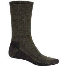 SmartWool Hiking Socks - Midweight, Merino Wool (For Men and Women) in Black/Caramel Heather - 2nds