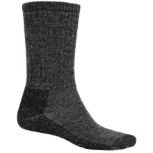 SmartWool Hiking Socks - Midweight, Merino Wool (For Men and Women) in Black/Charcoal - 2nds