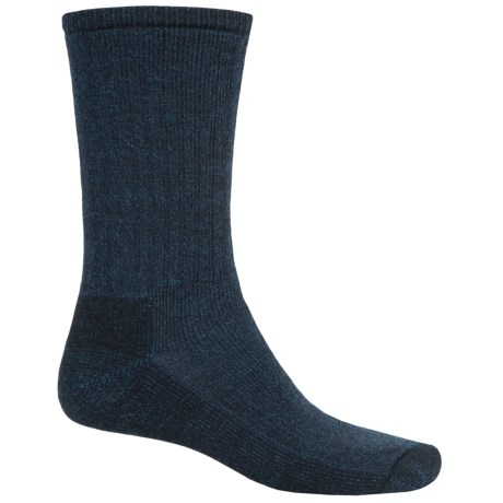SmartWool Hiking Socks - Midweight, Merino Wool (For Men and Women) in Black/Deep Sea