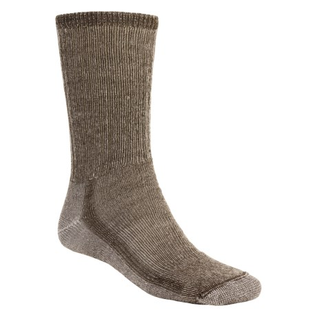 SmartWool Hiking Socks - Midweight, Merino Wool (For Men and Women) in Dark Brown