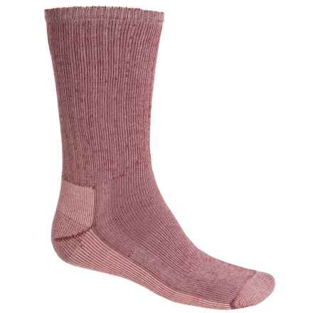 SmartWool Hiking Socks - Midweight, Merino Wool (For Men and Women) in Mahogany - 2nds