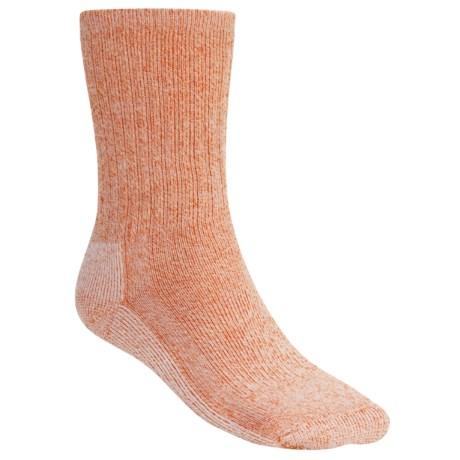 SmartWool Hiking Socks - Midweight, Merino Wool (For Men and Women) in Orange/Natural