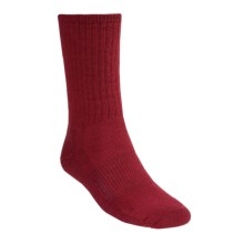 SmartWool Hiking Socks - Midweight, Merino Wool (For Men and Women) in Red - 2nds