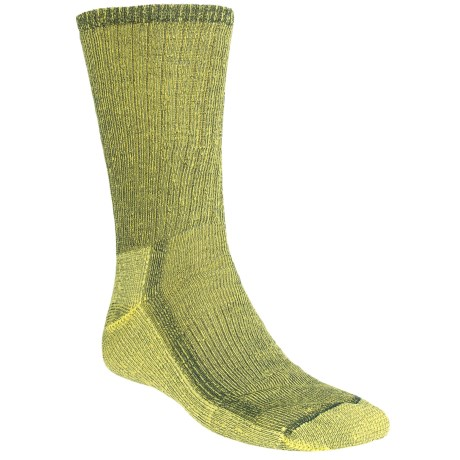 SmartWool Hiking Socks - Midweight, Merino Wool (For Men and Women) in Yellow/Navy Marl