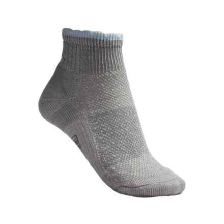 SmartWool Hiking Ultralight Mini Socks - Merino Wool, Quarter Crew (For Women) in Grey - 2nds
