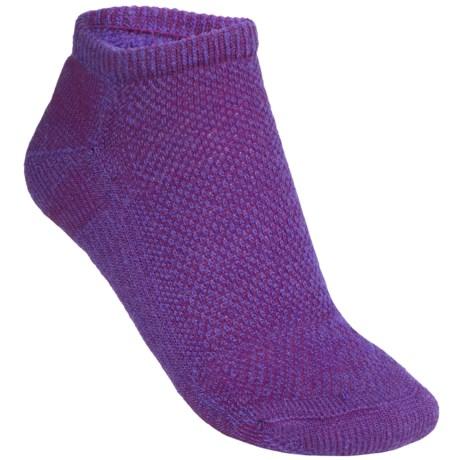 SmartWool Hiking Ultralight Socks - Merino Wool, Ankle (For Women) in Purpl Dahlia