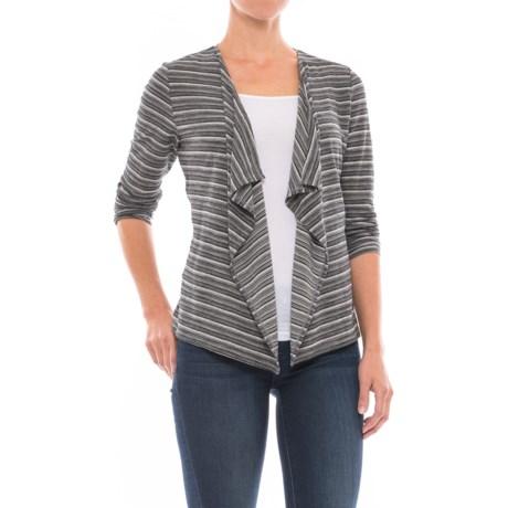 SmartWool Horizon Line Shirt Wrap - Merino Wool, Long Sleeve (For Women) in Black