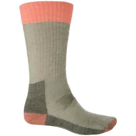 SmartWool Hunt Medium Socks - Merino Wool, Crew (For Men) in Loden - 2nds