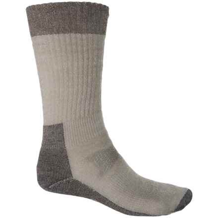 SmartWool Hunt Medium Socks - Merino Wool, Crew (For Men) in Taupe - 2nds