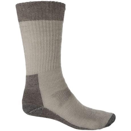 SmartWool Hunt Medium Socks - Merino Wool, Crew (For Men) in Taupe
